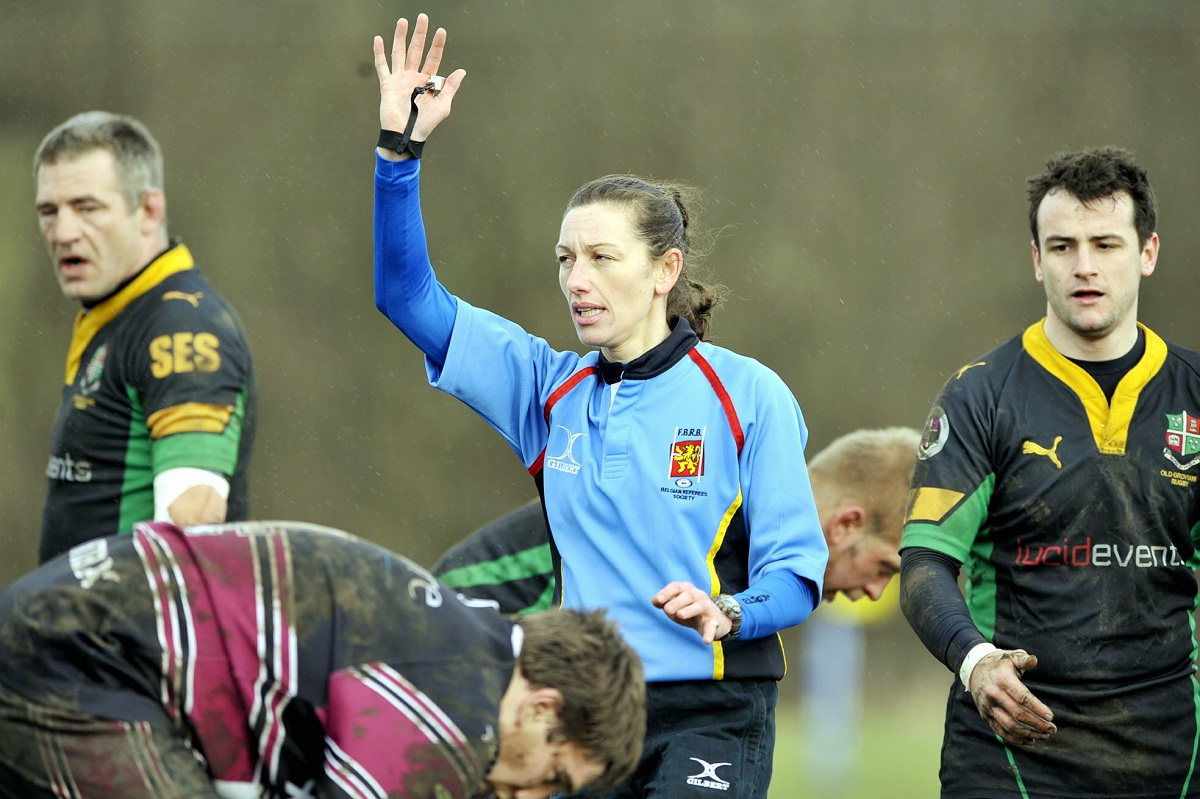 Coralie Greaban's game-management was first-class during the Old Grovians v Burley derby