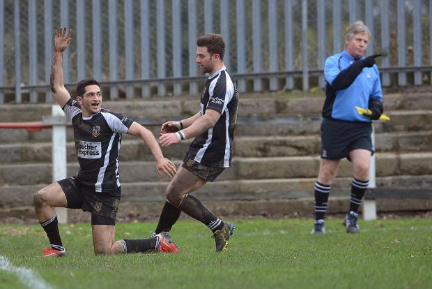 Winger Nazir Karim scored for the second successive week - but this time Otley were edged out
