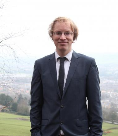 Labour's candidate for the Otley and Yeadon ward, Carl Morris