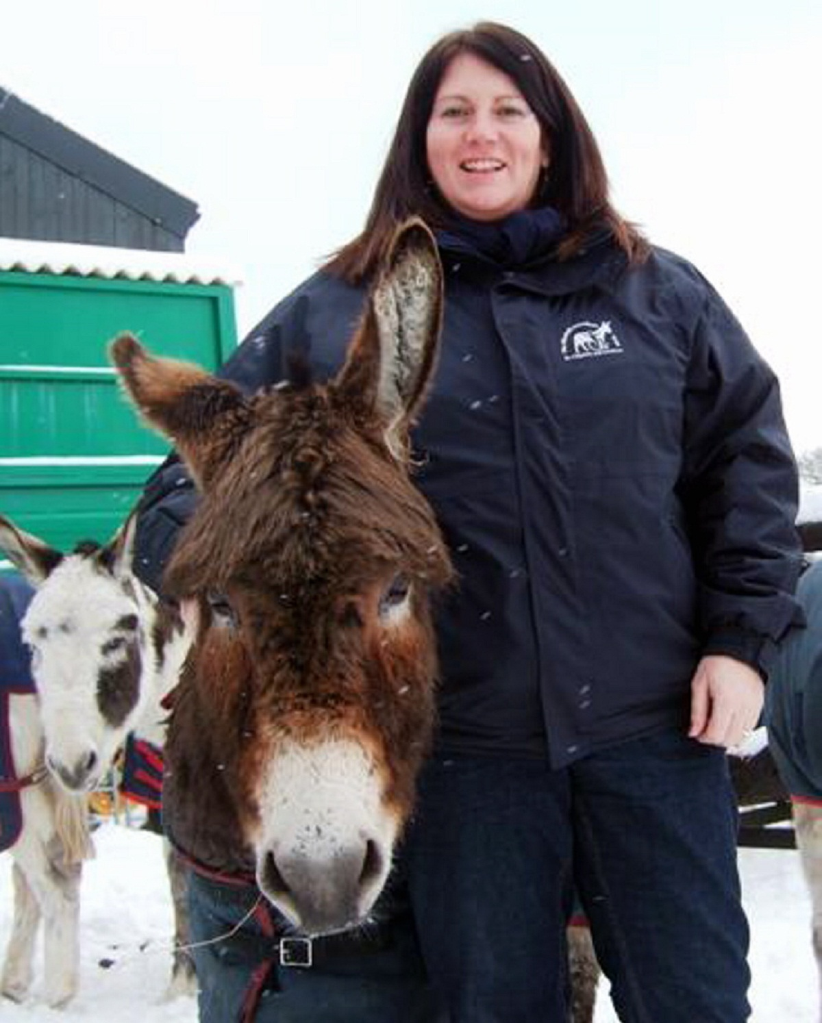 Donkey Sanctuary Leeds centre manager Cathryn Williams