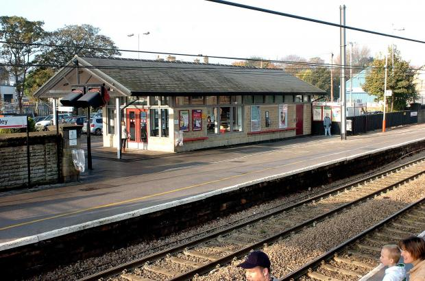 Guiseley Station – one of the stations where the Government is considering bringing in new parking charges