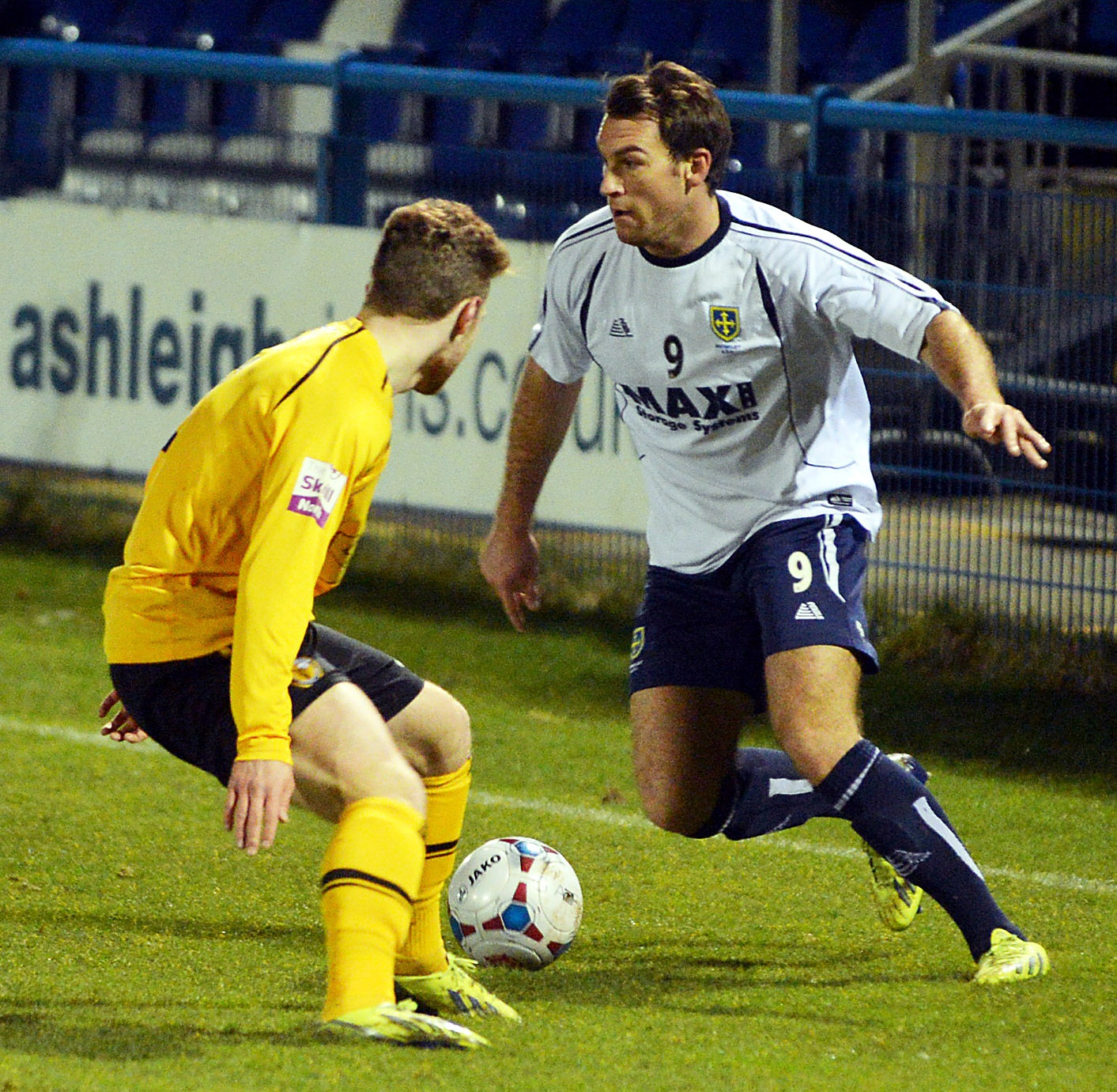Kevin Holsgrove struck in the last minute of injury time