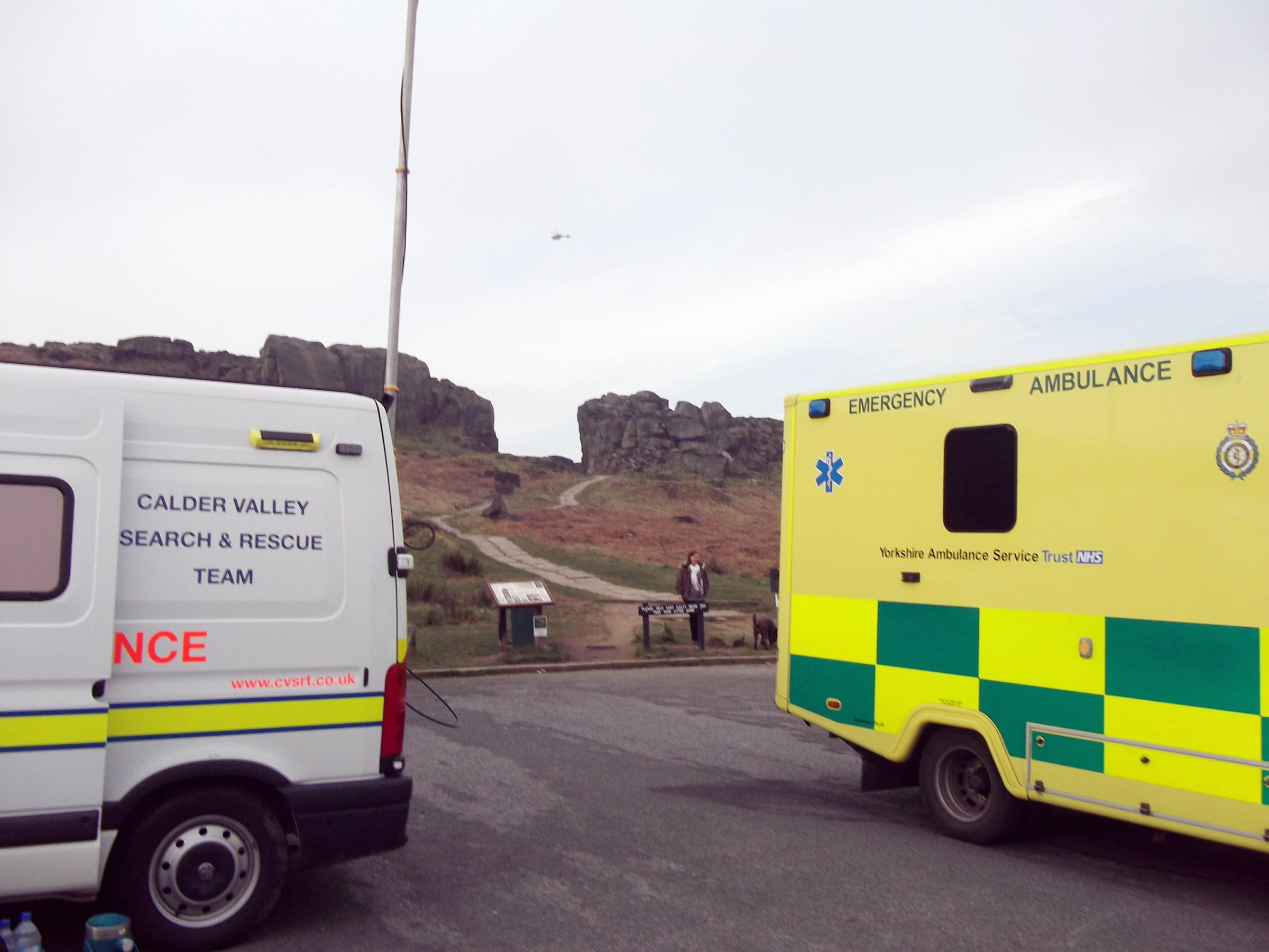 Man missing overnight found alive on Ilkley Moor