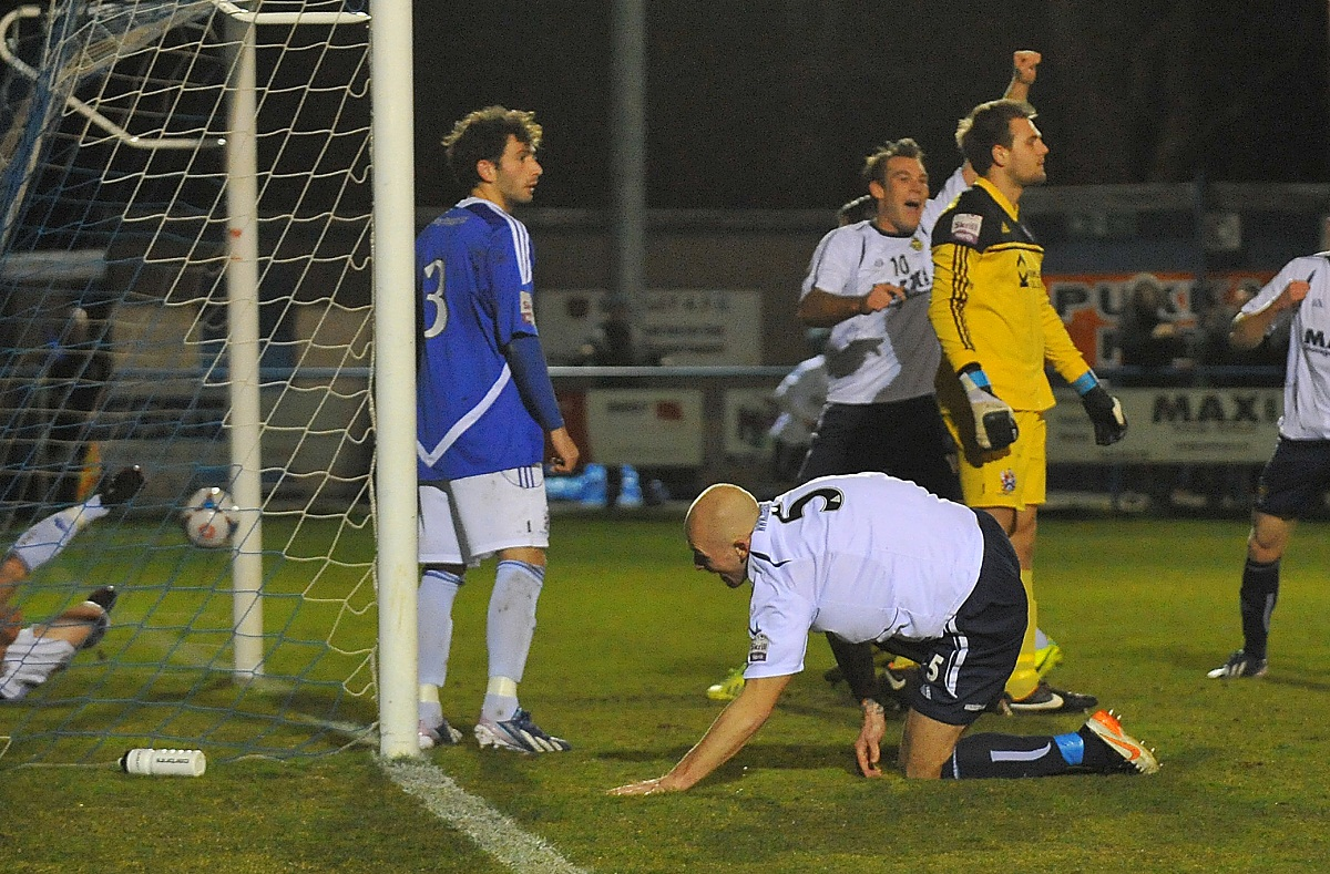 Guiseley are buoyed by their Dannys