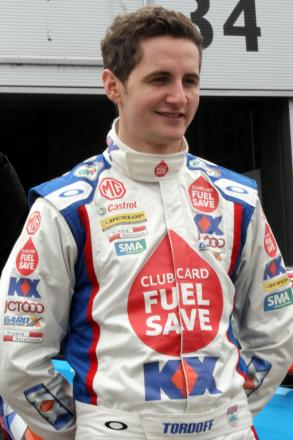 Sam Tordoff had a tough time