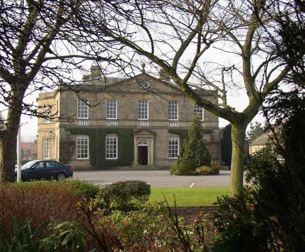 Burley House in Burley-in-Wharfedale