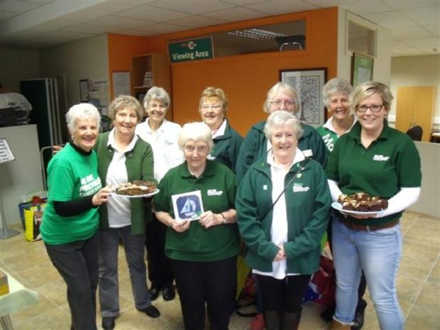 Some of the volunteers with Macmillan Cancer Support's Otley and Wharfedale Fundraising Group, who are celebrating raising more than £17,000