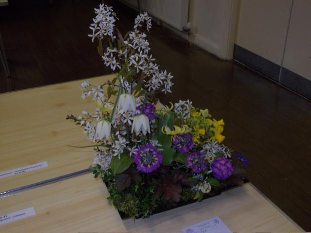 One of the winning floral displays at this year's s