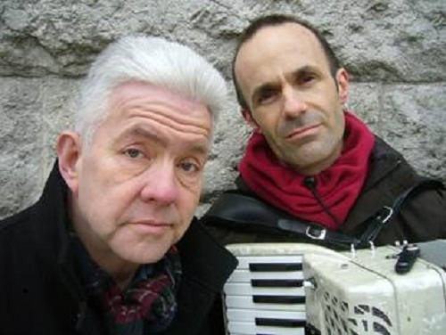 Poet Ian McMillan and composer and musician Luke Carver Goss are teaming up at Otley Courthouse for an evening of poetry and music
