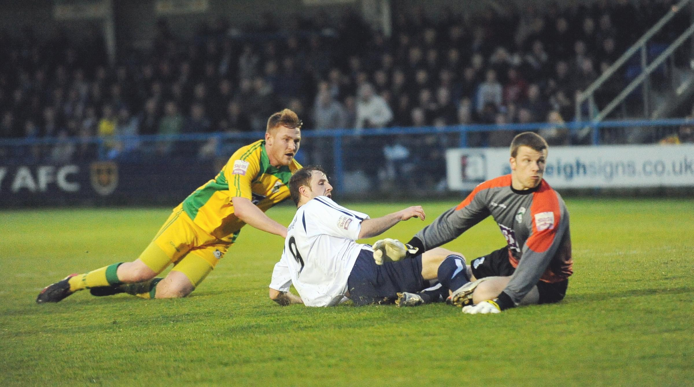 Guiseley looking good to win play-off battle