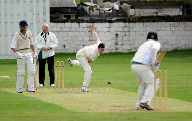 Skipper James Davies has been in fine form for Otley this season