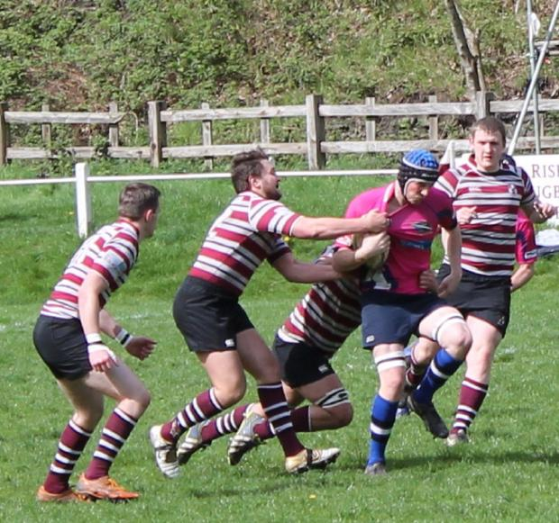 James Barret scored Yarnbury's first try