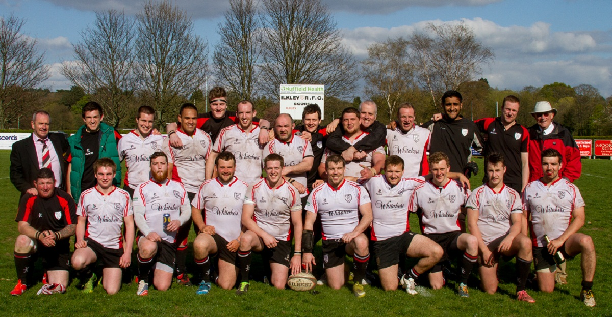 Ilkley's second team, who have not only their league championship but promotion via a play-off
