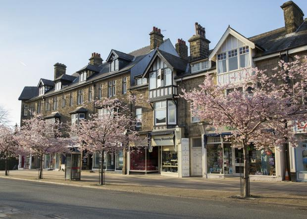 The Grove in Ilkley by Anna Nolan
