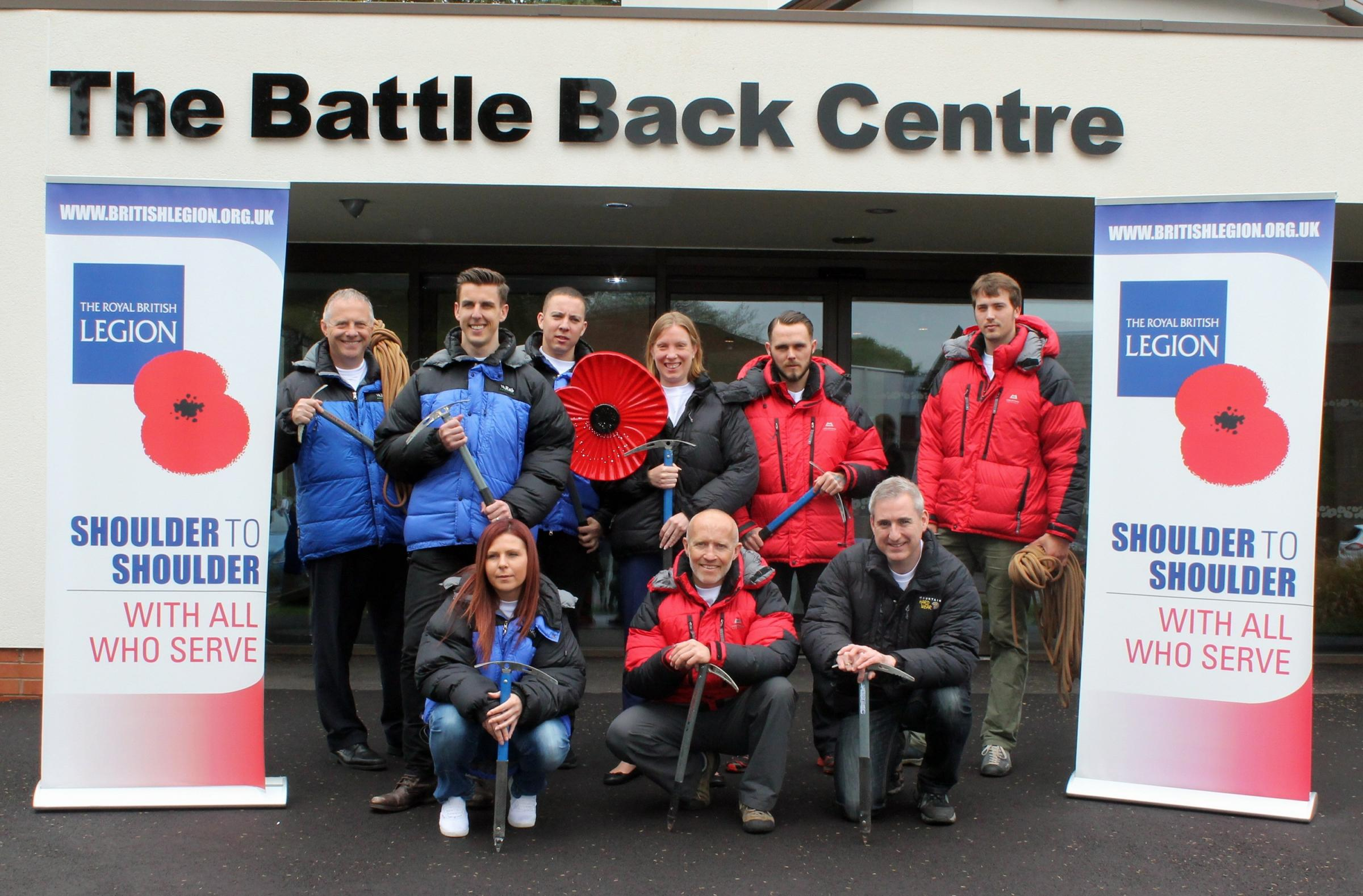 MP Greg Mulholland (far right, front row) is joining an expedition to scale one of the world's highest active volcanoes