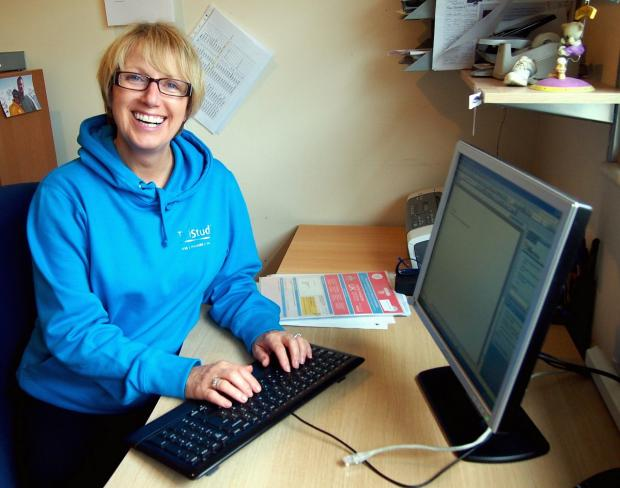Menston businesswoman Christine Minchella, who is behind the Menston 'buy local' campaign