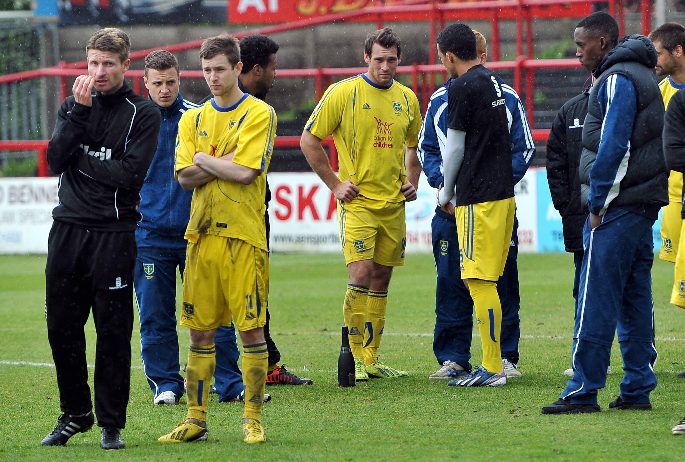 Guiseley aim to gain from the pain