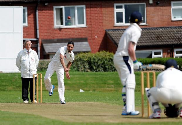 Wharfedale Observer: Tabbi Bhatti was East Bierley's all-round star in their league win over Pudsey Congs, scoring 68 not out and taking 2-26