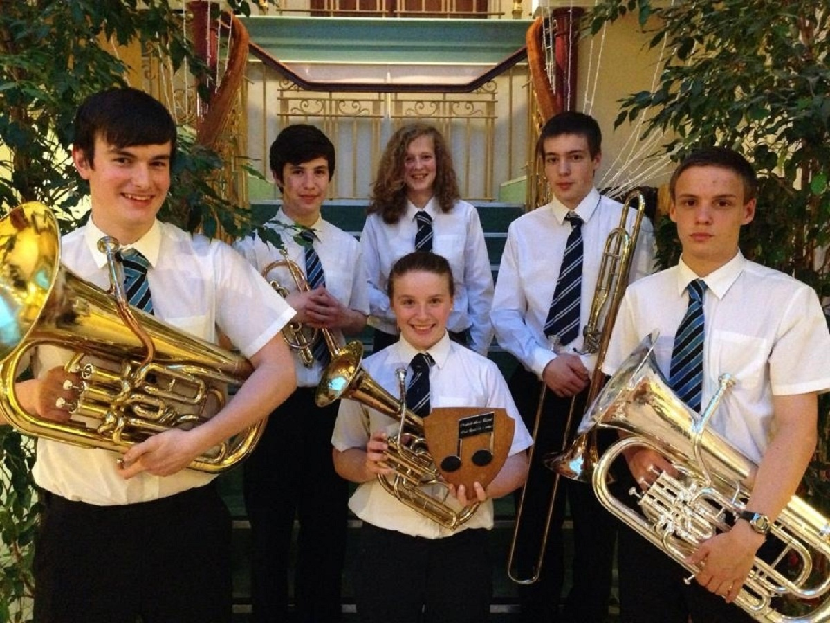 Prince Henry's Grammar School musicians a hit at Wharfedale Festival