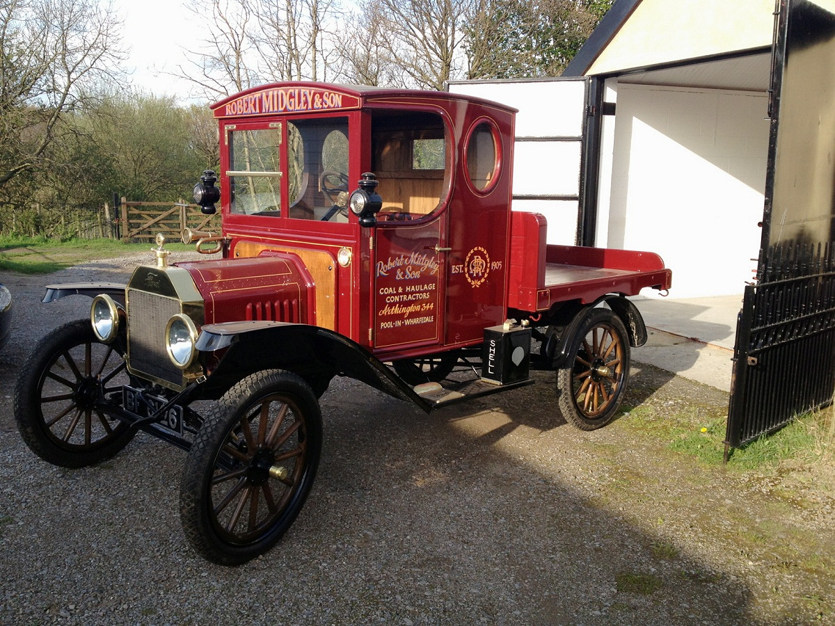 The 1916 Ford Model T that has been lovingly restored