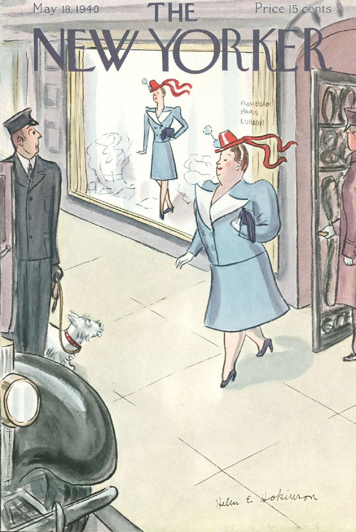 Dive into the New Yorker for 40s gems   Wharfedale Observer