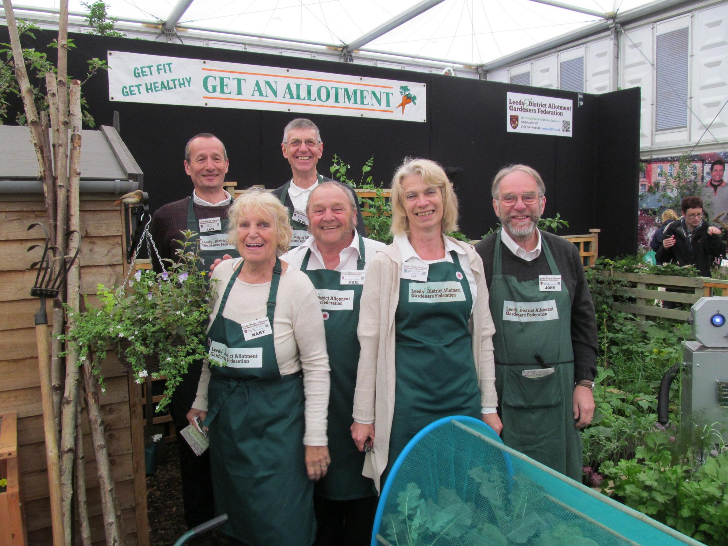 Silver award for Rawdon gardeners at Chelsea