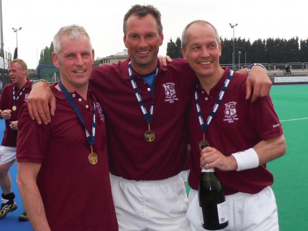 Ben Rhydding's masterful trio of Rob Ward, Mark French and Andy Locke will represent England