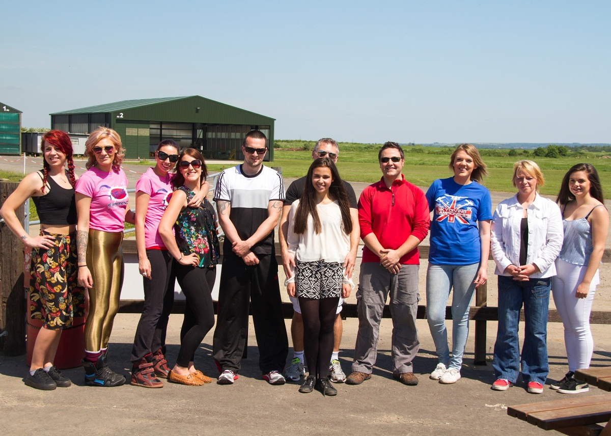 The skydivers who raised thousands of pounds for Bethany Hare's campaign