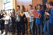 Musicians perform at St Mary's School, Menston, raising money for the Bambisanani Partnership