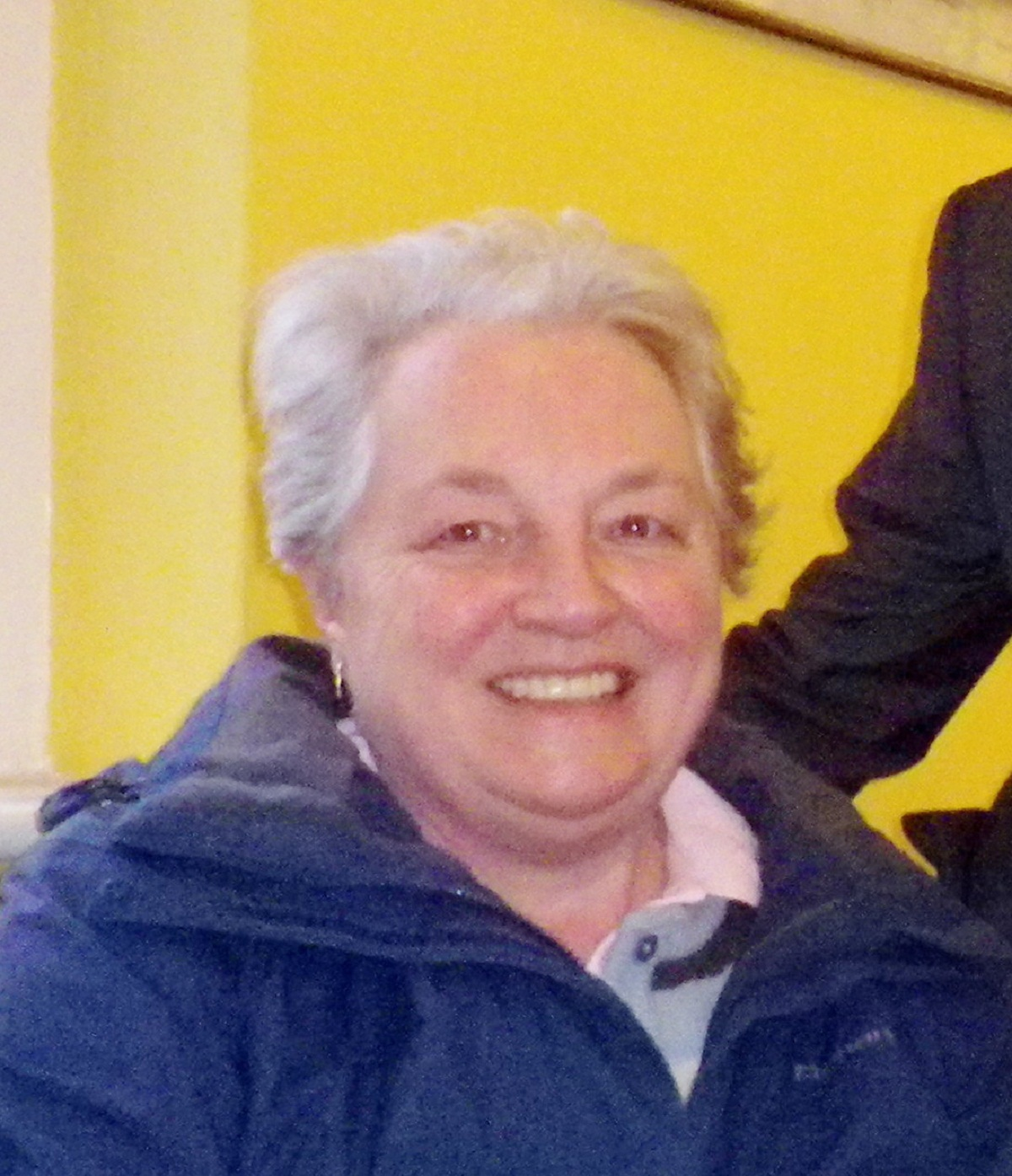 Otley Walking Festival organising committee chairman Ruth Blackwell
