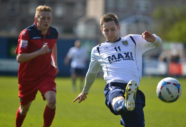 Andy Holdsworth is one of Guiseley's versatile players