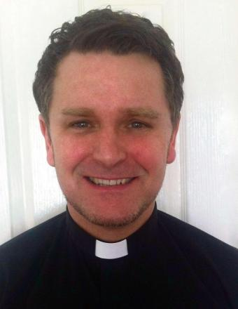 (8414305) Guiseley's new rector David Pickett