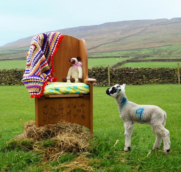 Mary's lambing chair
