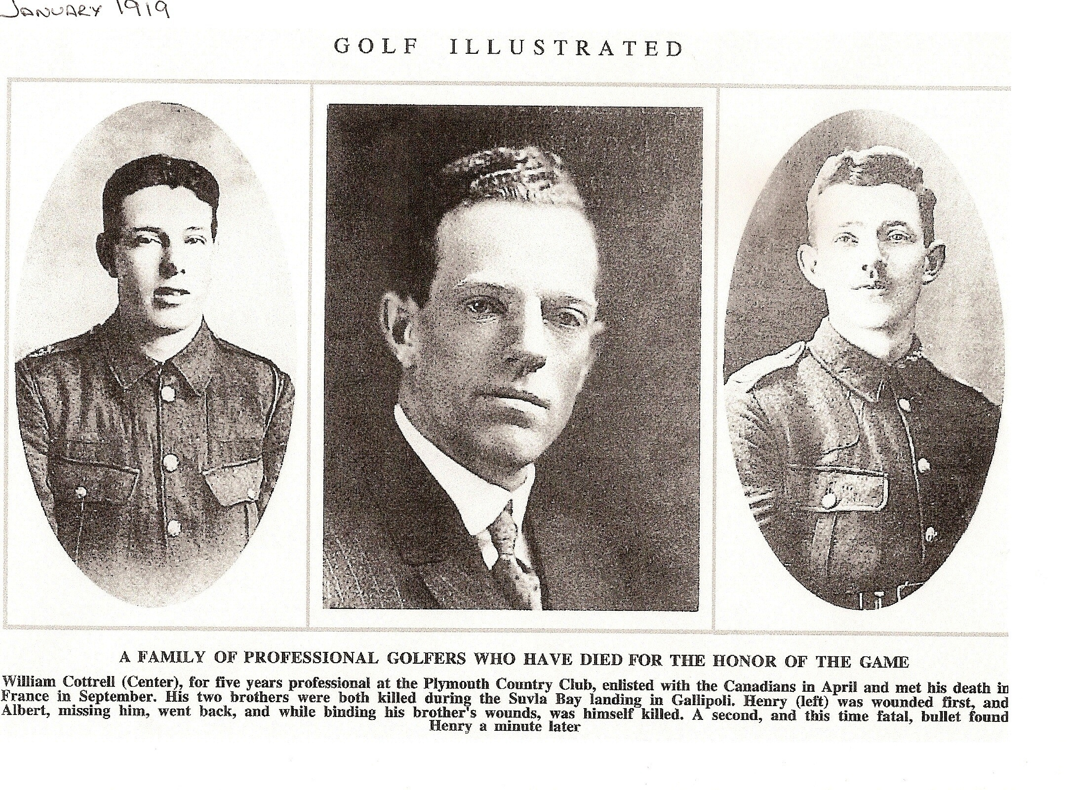 Tragedy of three brothers who all lost their lives in First World War