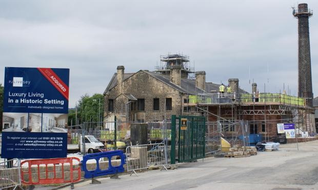 Changing - Otley's old Wharfedale General Hospital site.