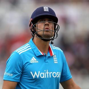 Alastair Cook's side fell to another disappointing