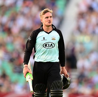 Jason Roy avoided a fracture on his thumb injury