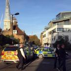 Wharfedale Observer: Police at the scene where a teenager was stabbed to death in south London