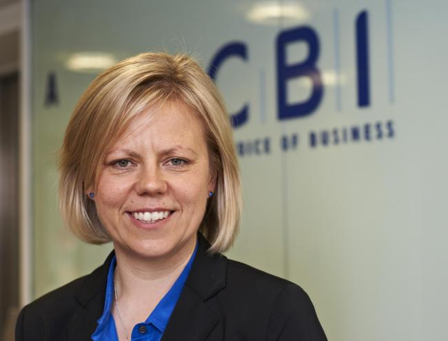 Katja Hall, of the CBI