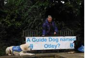 Off on an Arctic adventure – Guide Dogs supporter Pat Brown, from Otley, with her dogs Eddie and India