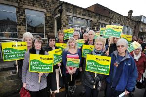 Menston houses application turned down