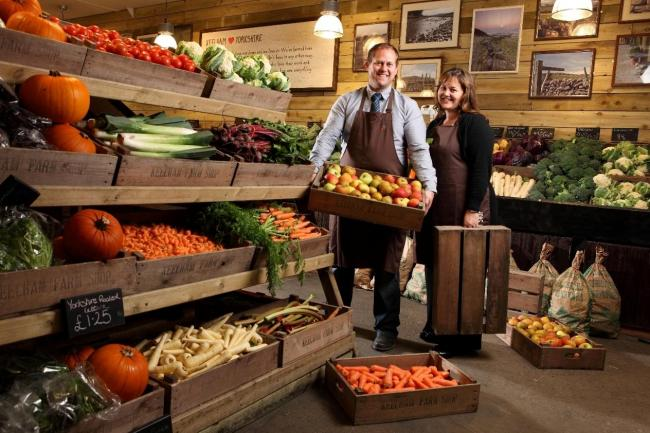 RECRUITING: James and Victoria Robertshaw at Keelham Farm Shop