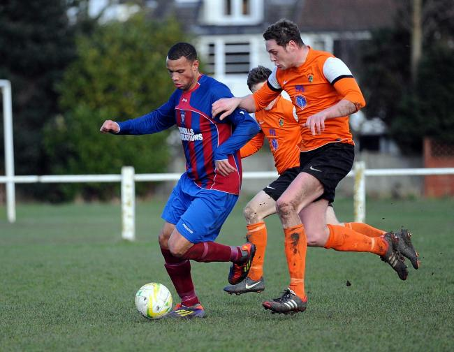 Josh Waite was on target for Otley Town