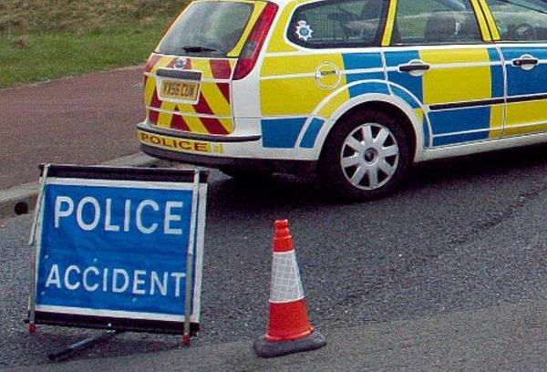 Police are appealing for information about a collision between a motorcycle and a pickup on the A658 near Leathley