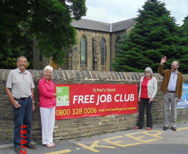 The CAP job club at St Paul's Church, Wibsey