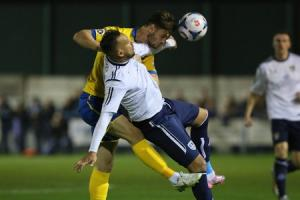 Guiseley's unbeaten run ended in live TV clash