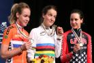 Lizzie Armitstead, centre, has been nominated for the BBC Sports Personality of the Year award