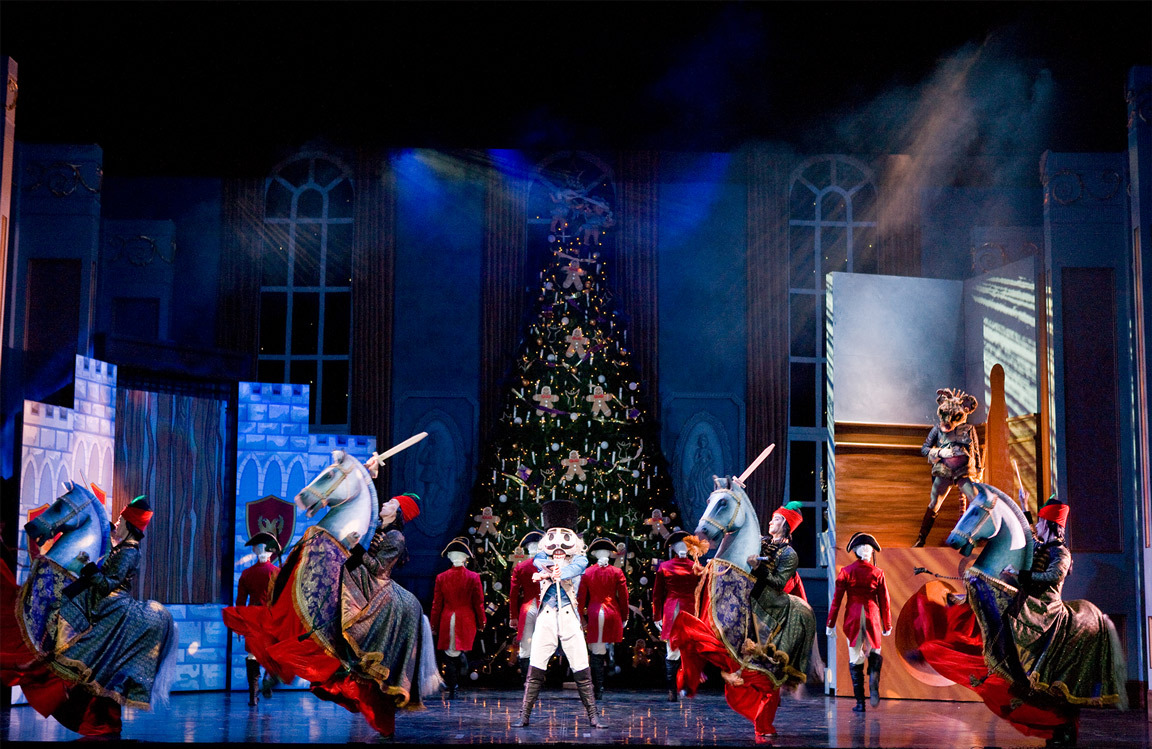 Northern Ballet's The Nutcracker. Photograph by Bill Cooper