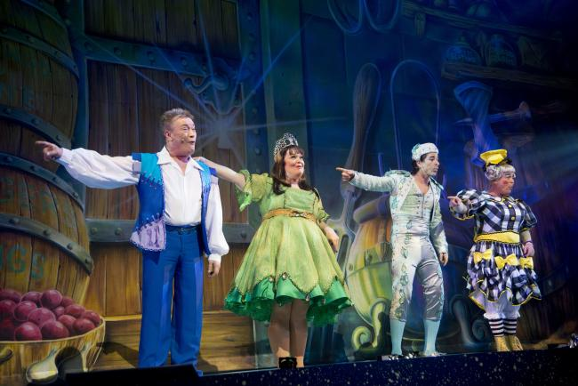 Jack and the Beanstalk at the Alhambra in Bradford