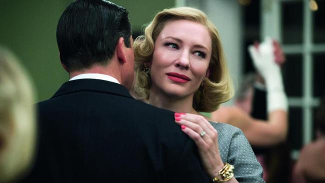 A scene from Carol, a story of how Manhattan department store clerk Therese Belivet (Rooney Mara), meets and falls in love with an older, married woman – the eponymous Carol (Cate Blanchett - pictured)